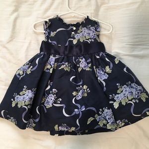 Janie and Jack Silk Dress with Bloomers, S. 3-6 m